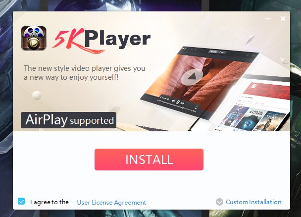 5kplayer review