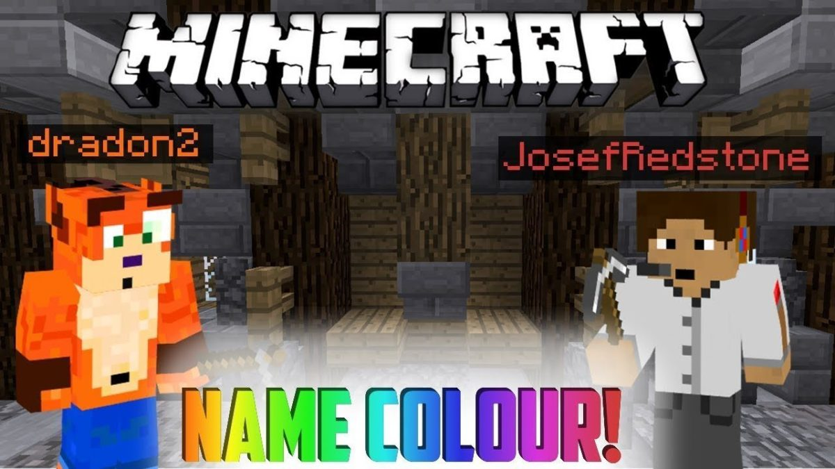 How To Change The Color Of Your Name In Minecraft October - Name mc minecraft server
