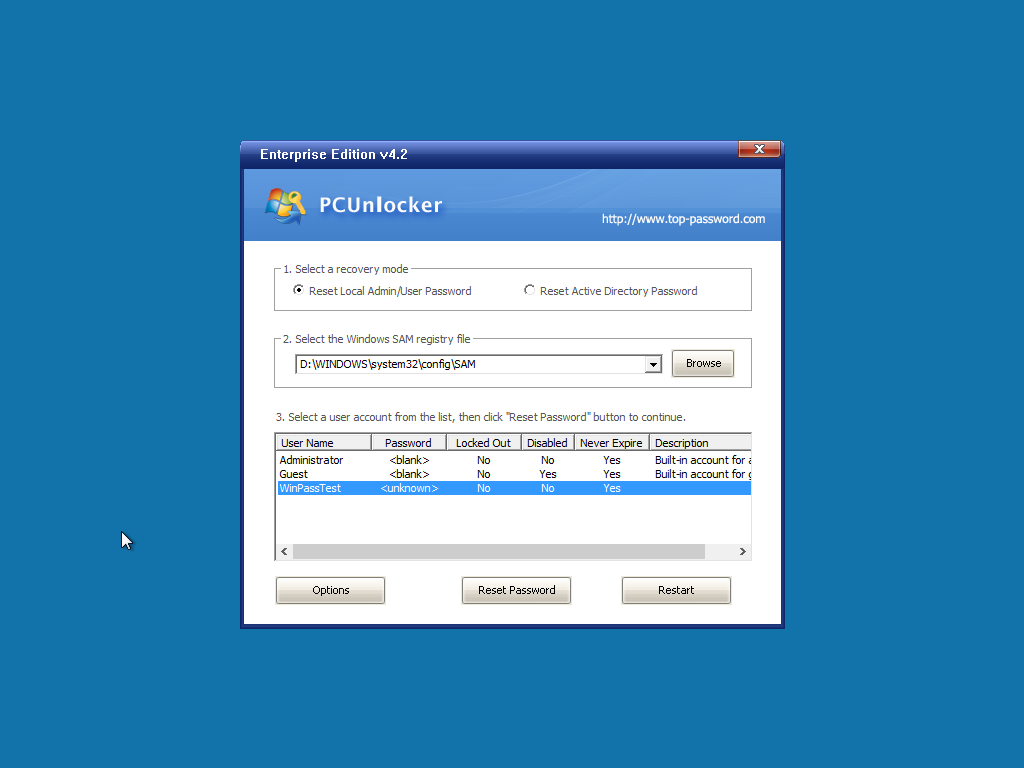 Forgot Windows 10 / 8 / 7 Password? Get into Computer with PCUnlocker 2