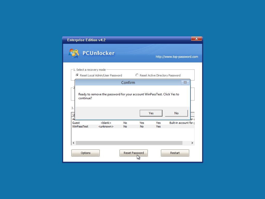 Forgot Windows 10 / 8 / 7 Password? Get into Computer with PCUnlocker 3