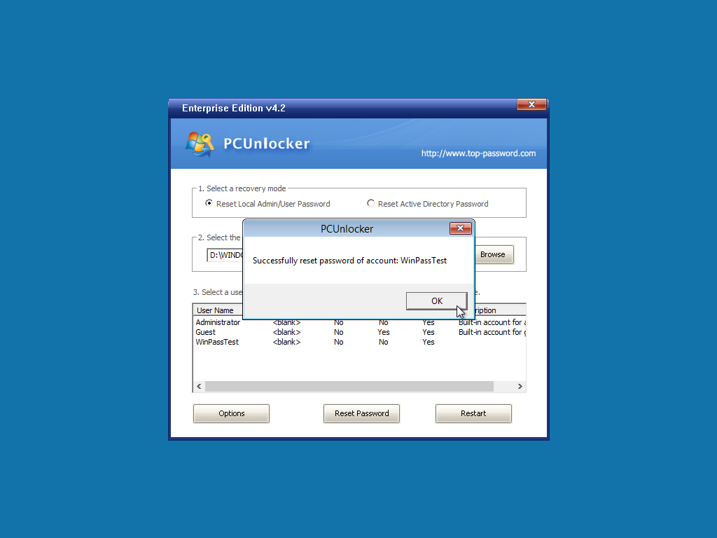 Forgot Windows 10 / 8 / 7 Password? Get into Computer with PCUnlocker 4