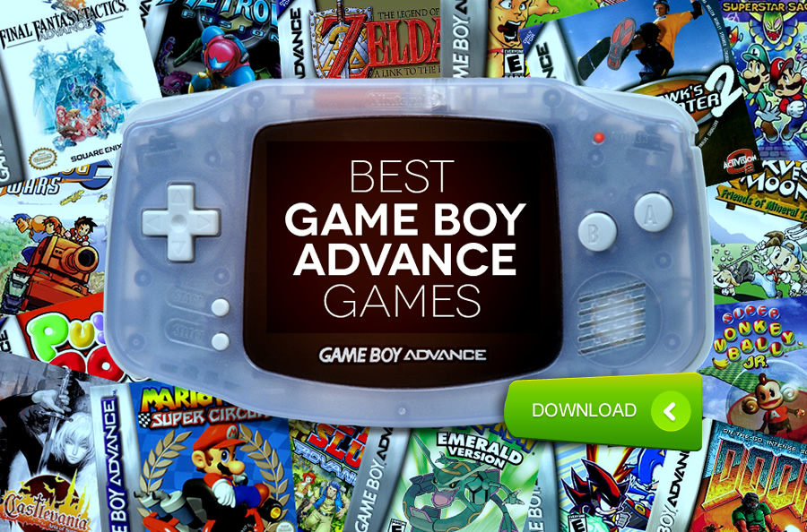 50 Best GBA Games / ROMs Of All Time (August 2019)