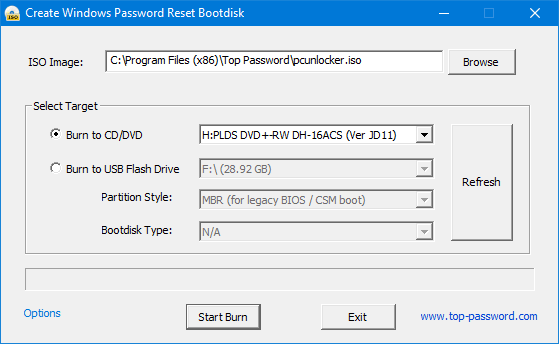 How To Remove or Recover Windows 10 / 8 / 7 Password 2020 8