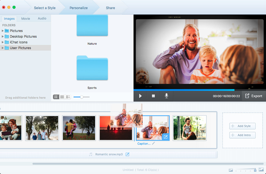 How to Make a Slideshow - Arrange the Order of Your Photos & Videos