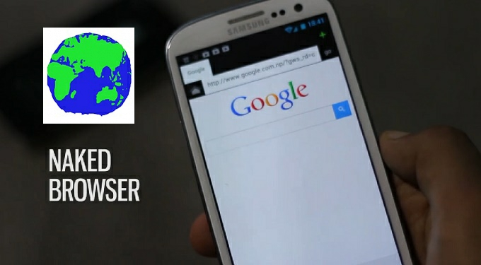 Image result for Naked android browser ui