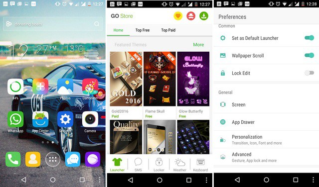 20 Best Free Android Launchers Apps (August 2019)