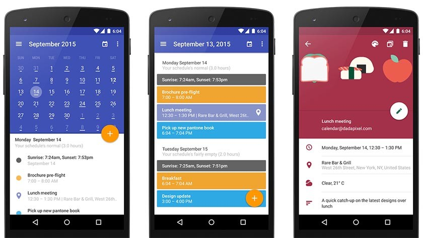 today calendar best calendar apps for android