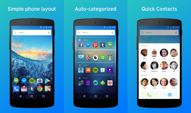 20 Best Free Android Launchers 4