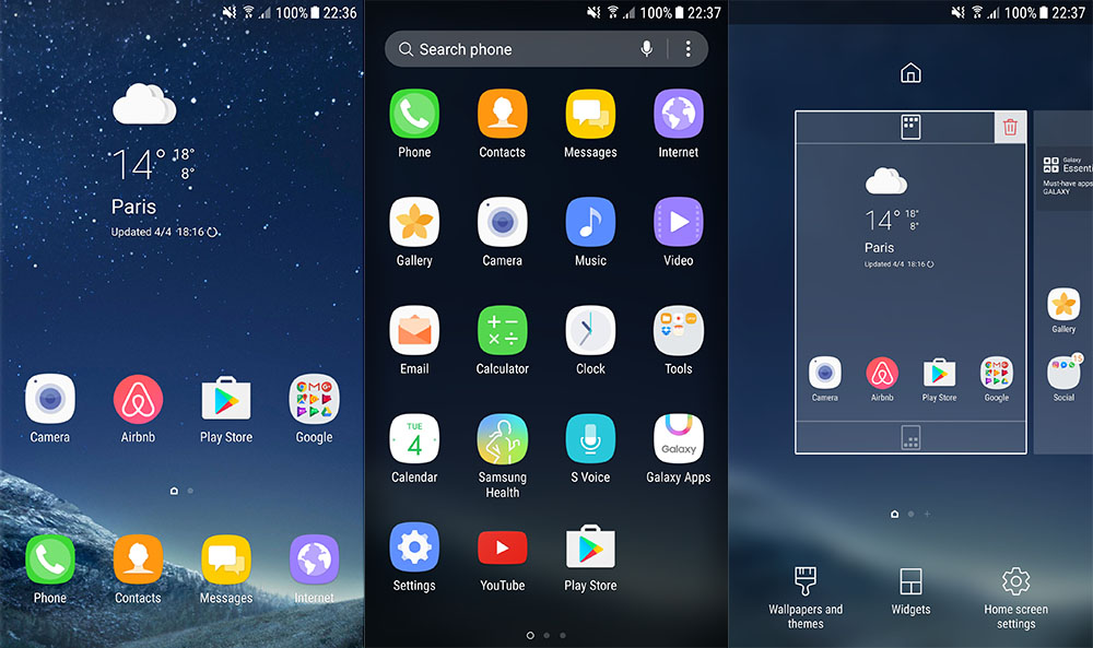 Image result for touchwiz launcher 2017