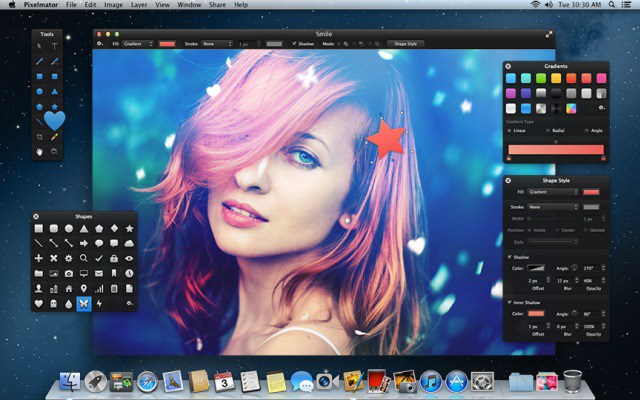Pixelmator photoshop alternative for Mac