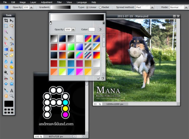 free adobe photoshop like software