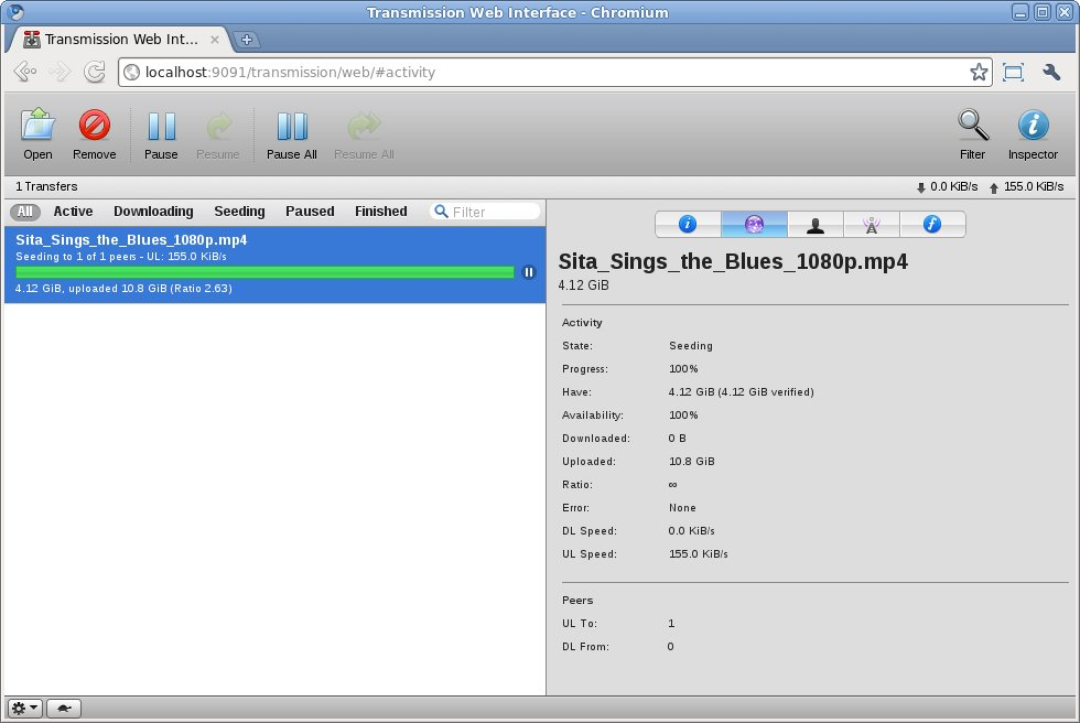 How to download torrent using terminal.