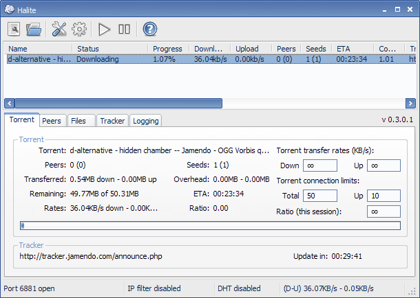 Image result for Halite BitTorrent client 2018
