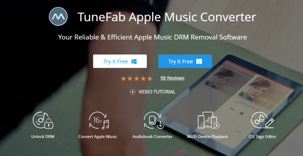 TuneFab Apple Music Converter Review - Best Apple Music DRM Removal Software 1