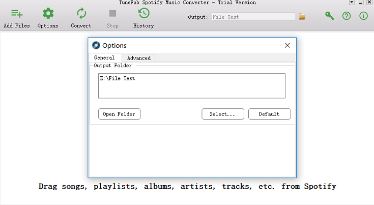 Change Output Folder for Spotify Songs
