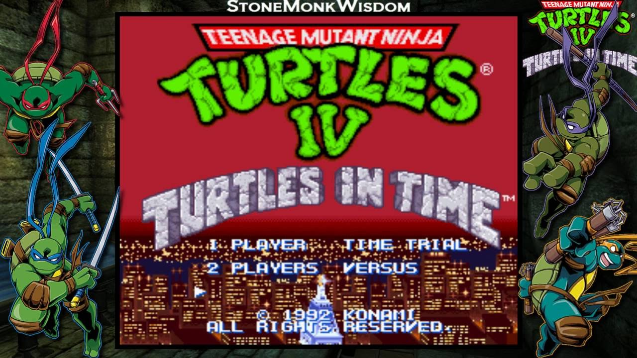 Image result for snes Teenage Mutant Ninja Turtles IV: Turtles In Time