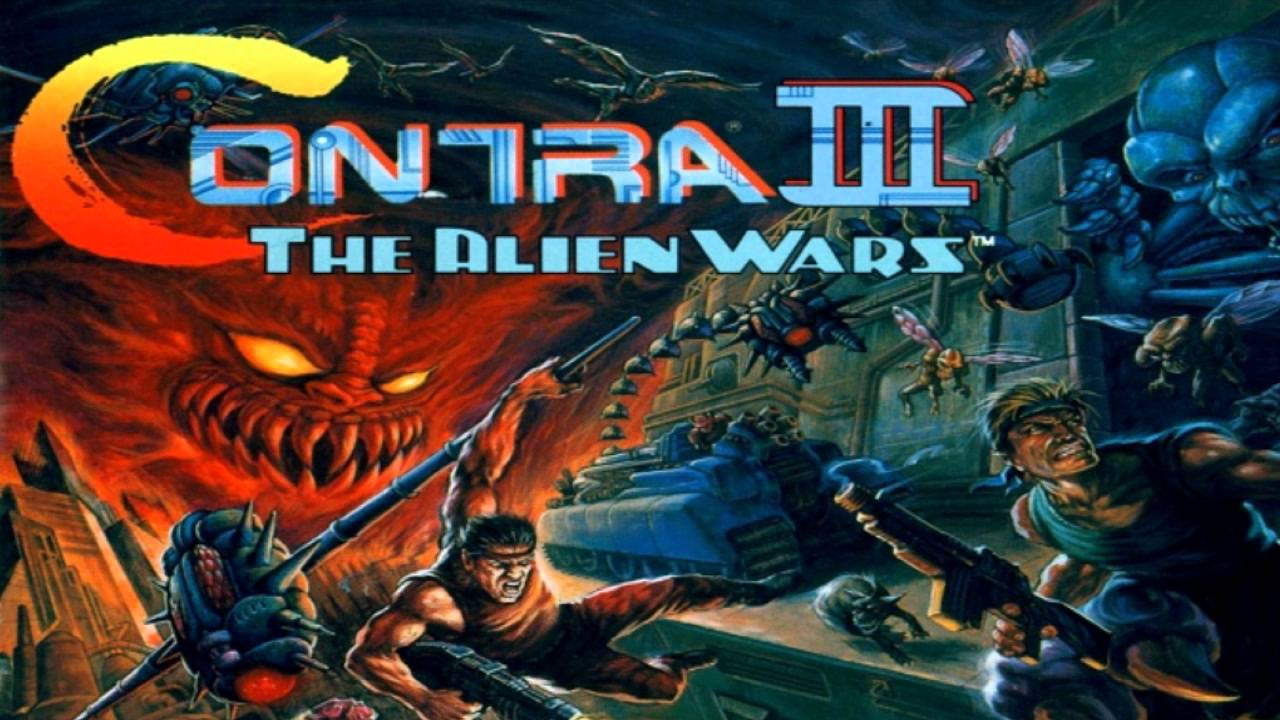 Image result for snes Contra III: The Alien Wars