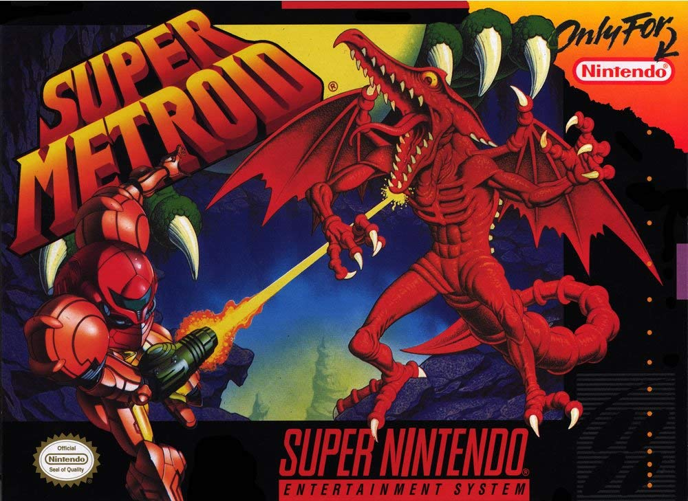 Image result for snes Super Metroid