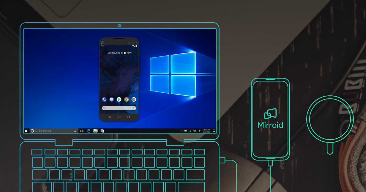 Mirroid——Mirroid/Control Your Android on PC