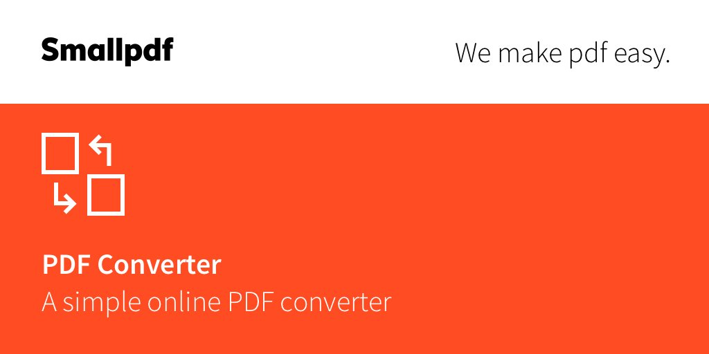 "Smallpdf on Twitter: ""Why pay when you can convert PDF for free?🧙‍♂️ #TuesdayThoughts https://t.co/hCbIiltwpM… """