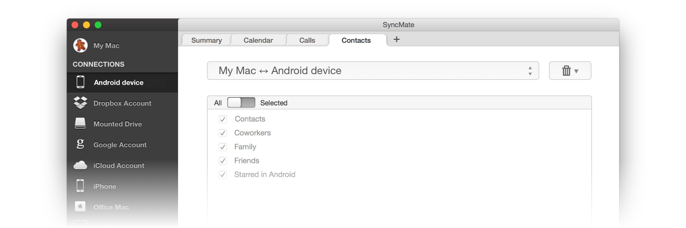 Syncmate Review - Easily Sync Android to iPhone 3