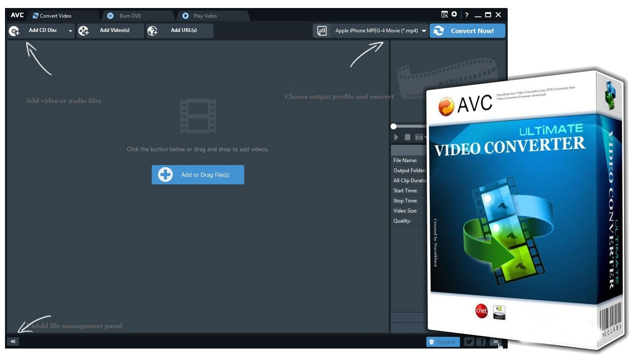 Any Video Converter Ultimate 7.0.2 Free Download - Get Into PC