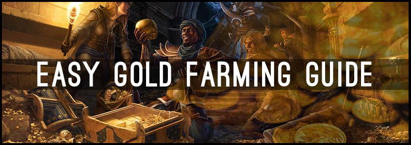 ESO Gold Farming Guide, How to make gold in ESO Banner