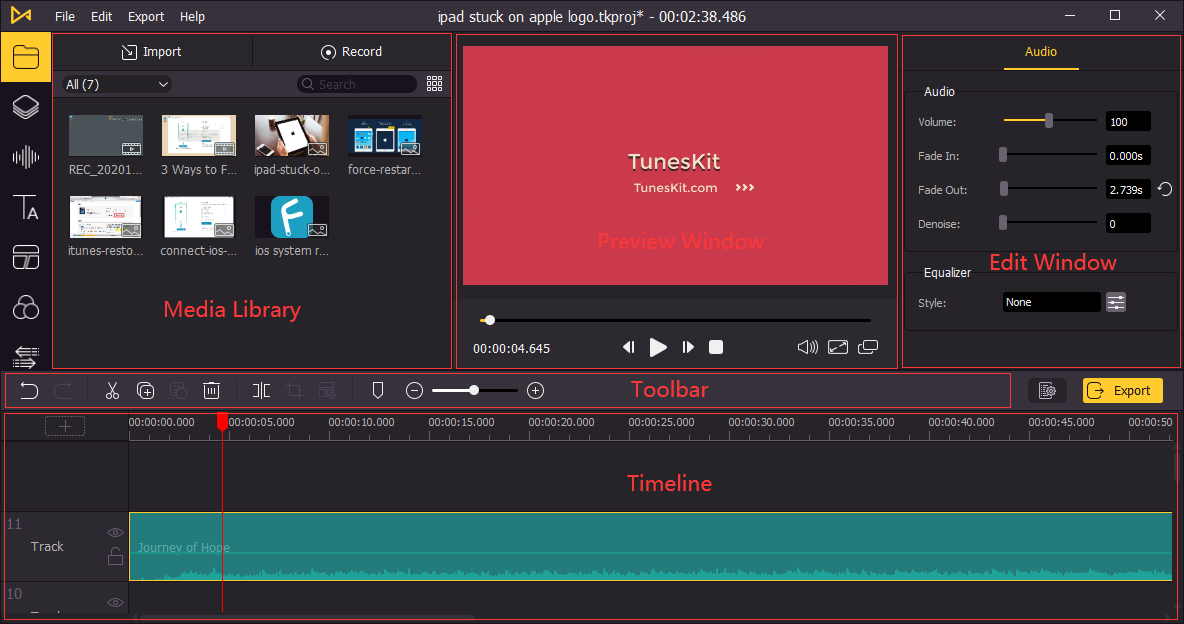 edit video with AceMovi