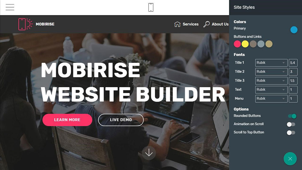 mobirise easy website builder you need in 2019