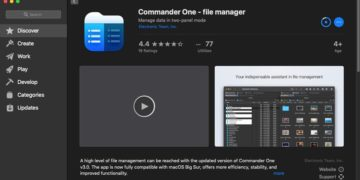Commander One Review - Best File Manager for Mac 3