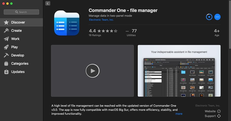 Commander One Review - Best File Manager for Mac 1
