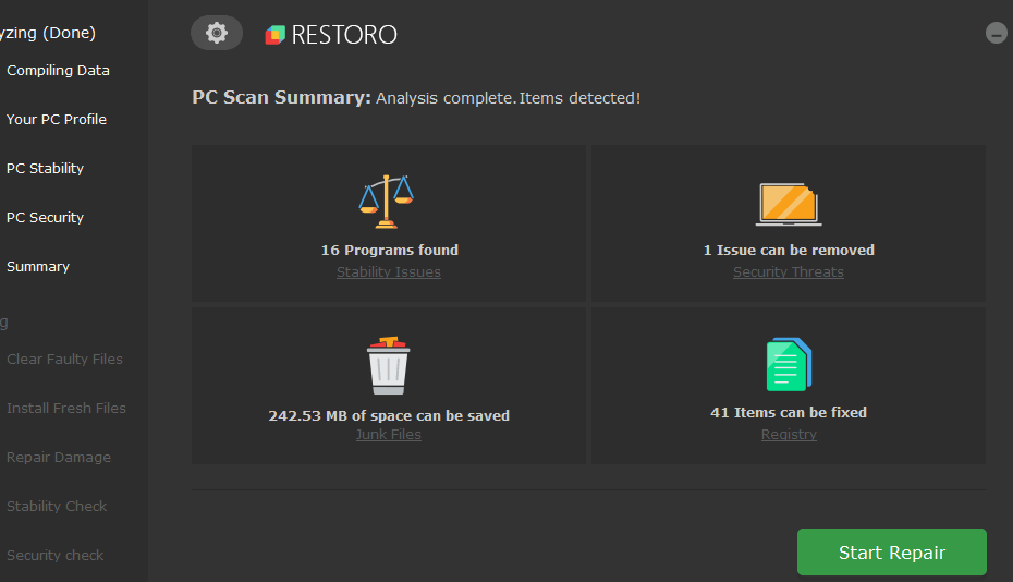 restiro download