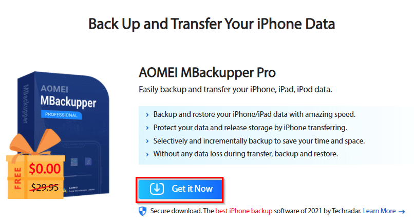 World Backup Day 2021 Giveaway: AOMEI Backup Tools - I Have A PC | I Have A PC