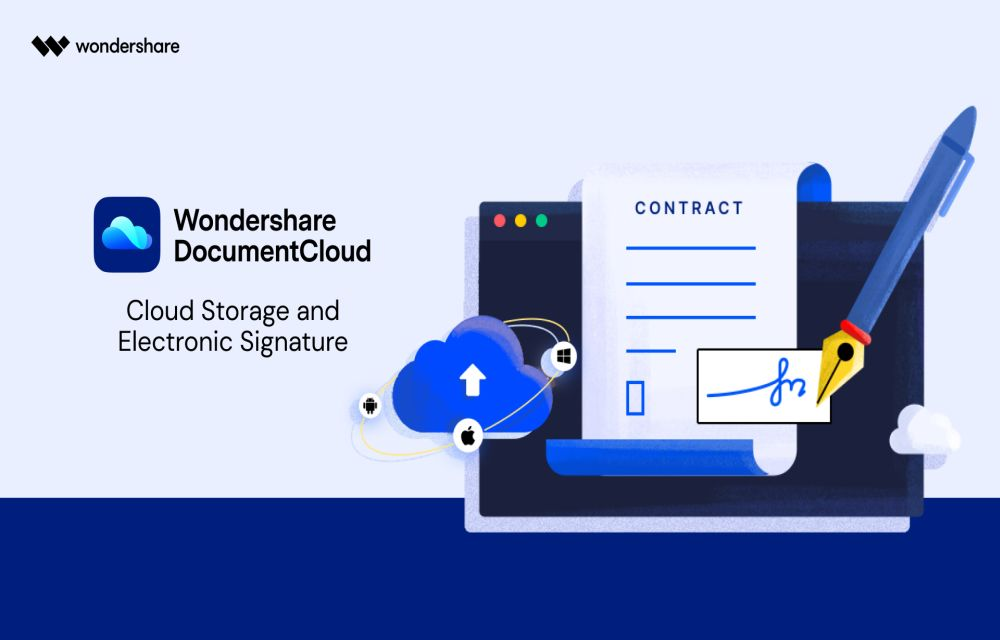 Wondershare Document Cloud Review: A New Way to Sign Documents
