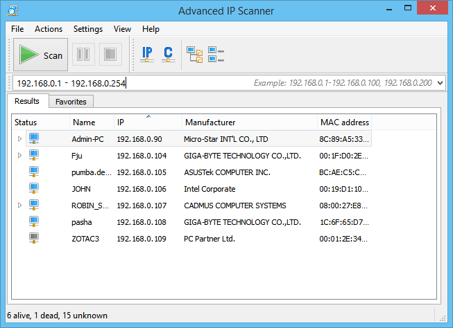 How to Scan for IP Addresses 2