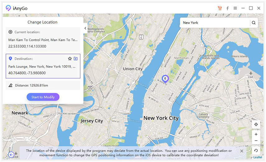 Tenorshare iAnyGo Review: iPhone Location Changer for My First Choice 1