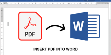 How to Insert PDF Into Word Document 5