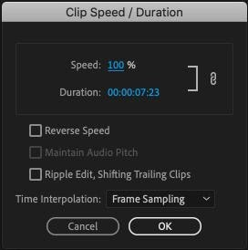 How To Speed Up Video In Adobe Premiere 12