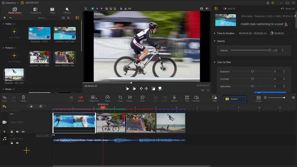 VideoProc Vlogger Review - Make Your Final Cut with this Free Video Editing Software 2